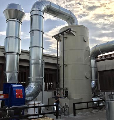 aspirazione fumi biomasse biogas