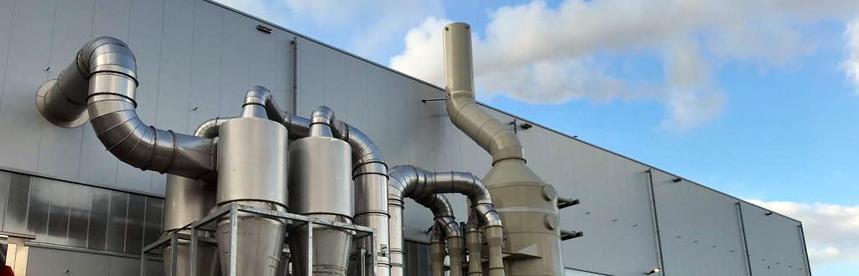 impianti aspirazione industria chimica