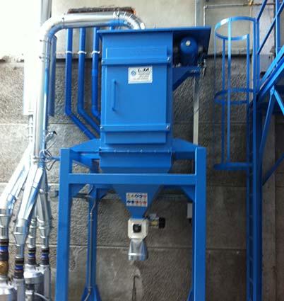 impianti trasporto pneumatico tecnologie aspirazione-ventilazione