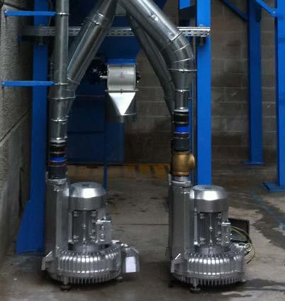 impianti trasporto pneumatico aspirazione-ventilazione